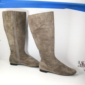 Nine West Fauxao Riding Boots Grey Size 9